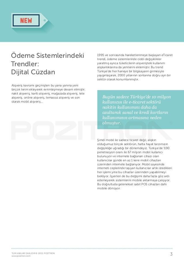 Pozitron Insights: Türkiye'nin Dijital Cüzdan Haritası Slide 3