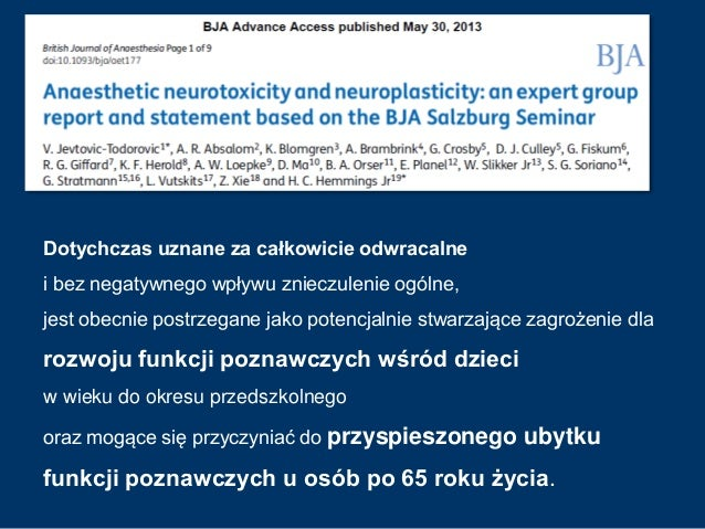 ...wszystko w naszych rękach... Prof. Peter Le Roux Prace badawcze nad neuroprotekcją zawiodły. Każdego dnia w praktyce kl...