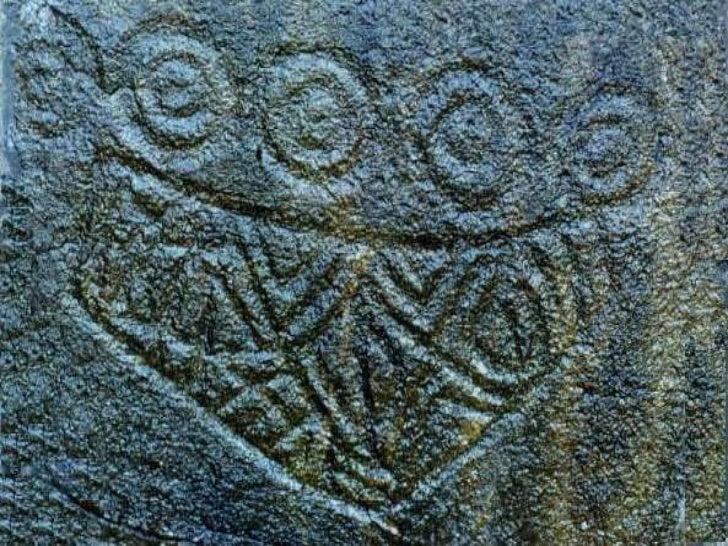 Pinturas rupestres com motivos Geométricos:<br />As figuras com motivos geométricos são muito variadas: apresentam linhas ...