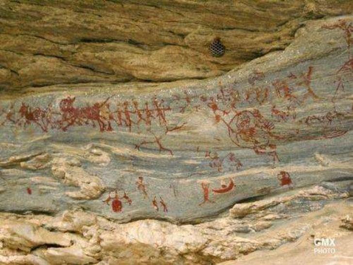 Naturalismo e geometrismo: duas faces da arte rupestre no brasil<br />Várzea Grande – esse estilo tem como características...