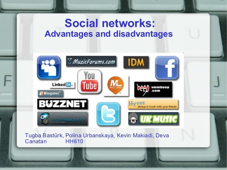 advantages and disadvantages of online social networking