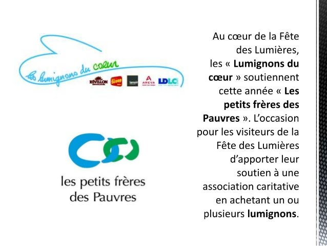 Les Lumignons du cœur soutiennent Les petits frères des Pauvres pendant les Fête des Lumières à Lyon