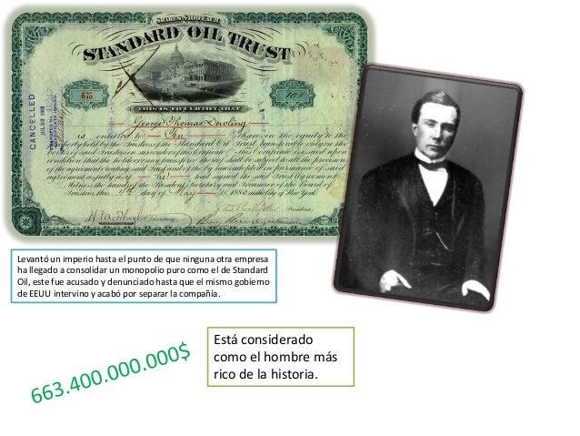 Ya desde muy joven Rockefeller mostraba gran interés por los negocios. De hecho, recolectaba piedras para pintarlas y lueg...