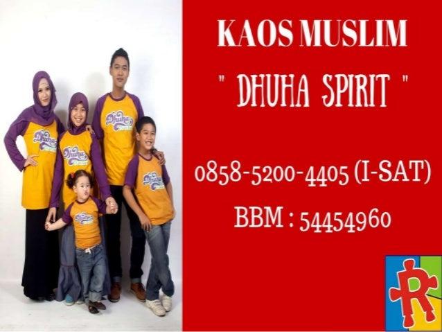0858-5200-4405 (I-SAT) | Grosir Kaos Islami Slide 3