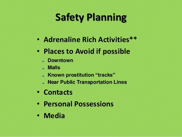 Prevention, Prosection and Protection - Human Trafficking