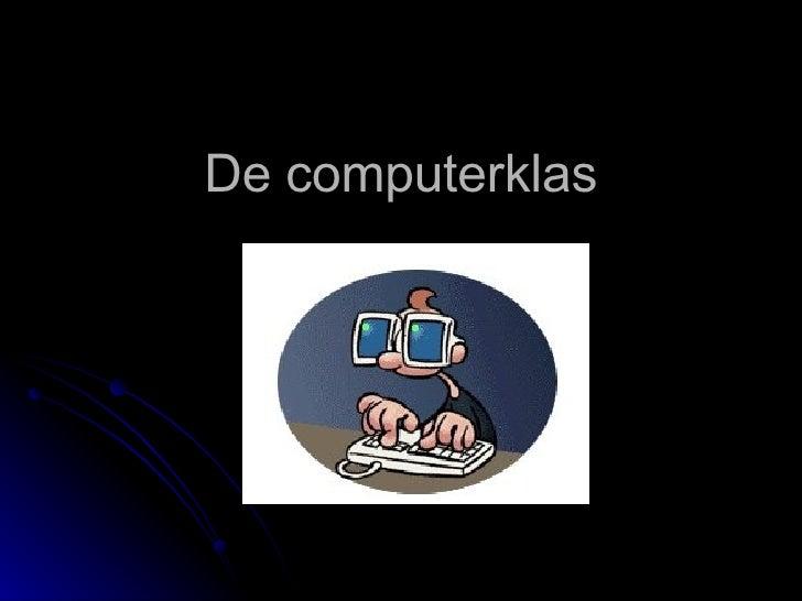 De computerklas