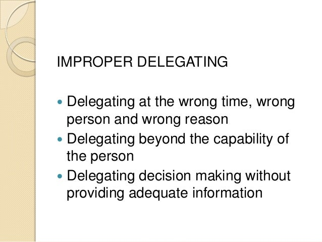 Pp Delegation