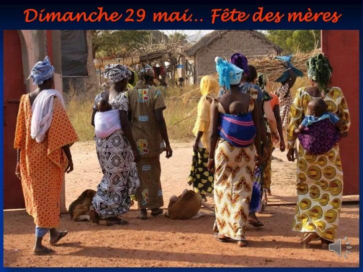 Dimanche 29 mai… Fête des mères<br />