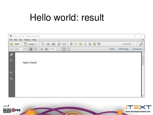 PDF made easy with iText 7