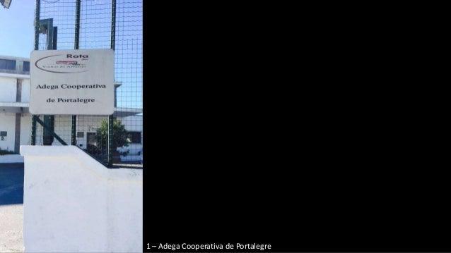 1 – Adega Cooperativa de Portalegre
