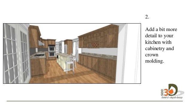 20  2 Kitchen Design with SketchUp