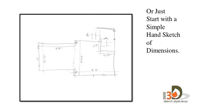 Or Just Start With A Simple Hand Sketch Of Dimensions.