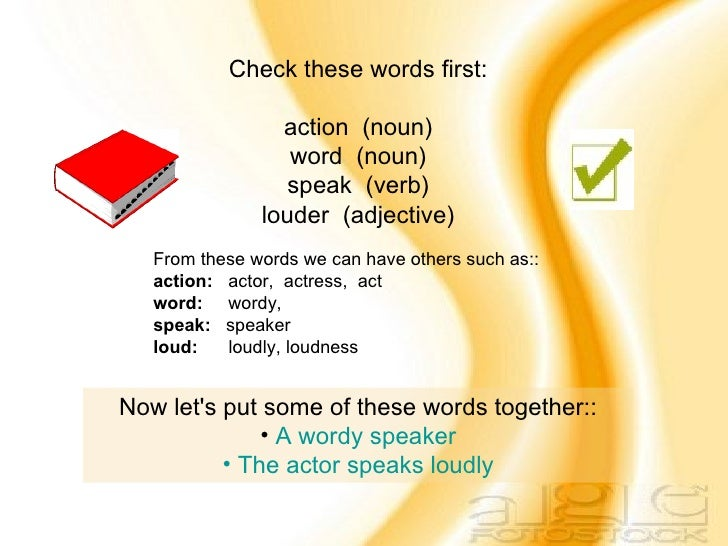 Your Actions Speak Louder Than Words: Proverb01: Actions Speak Louder Than Words