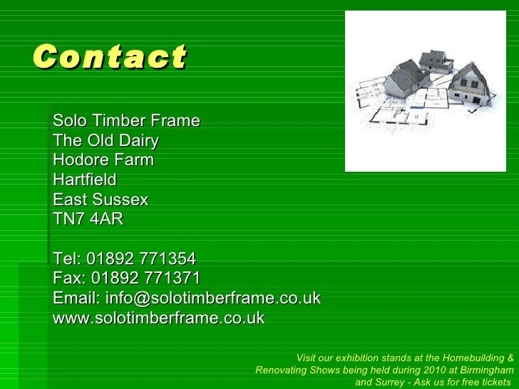solo timber frame powerpoint presentation