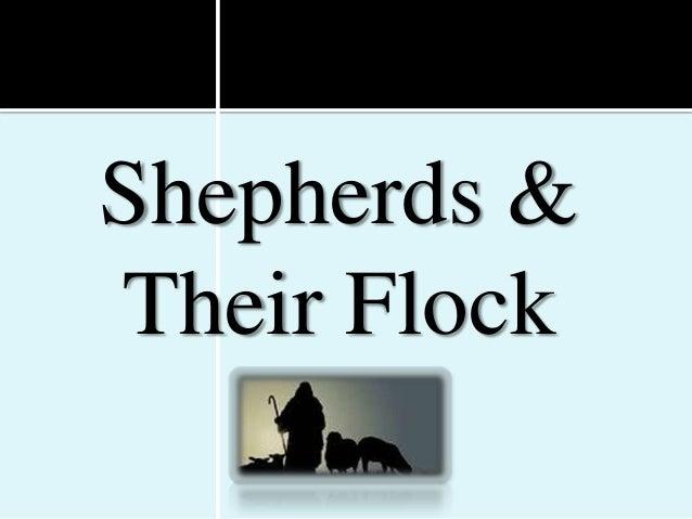 Shepherds &Their Flock