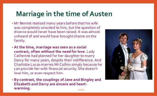 pride and prejudice thesis on marriage Let us write you a custom essay sample on representation of love and marriage in pride and prejudice.