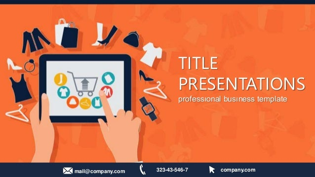 powerpoint presentation on online shopping