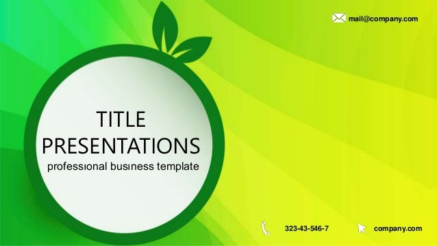Green eco lightning free powerpoint templates green eco lightning free powerpoint templates title presentations professonal busness template mailcompany 323 43 546 toneelgroepblik Gallery