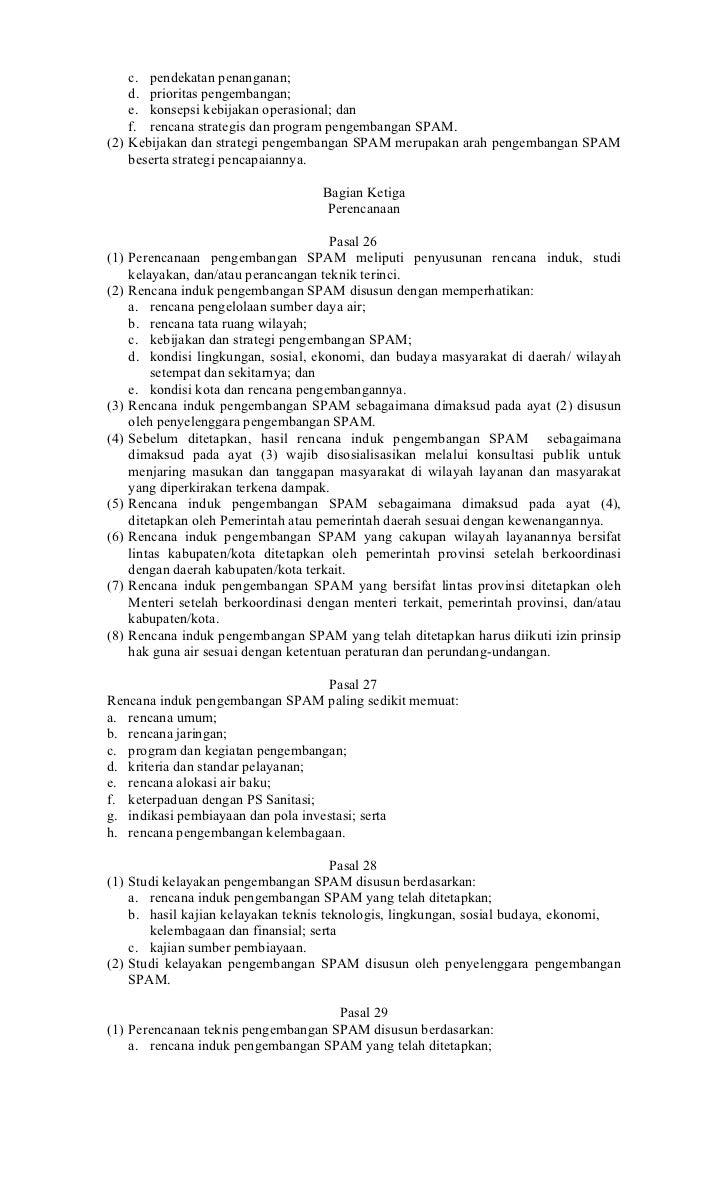 c. pendekatan penanganan;    d. prioritas pengembangan;    e. konsepsi kebijakan operasional; dan    f. rencana strategis ...