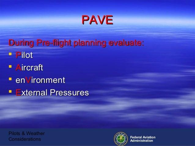 pilots  u0026 weather considerations