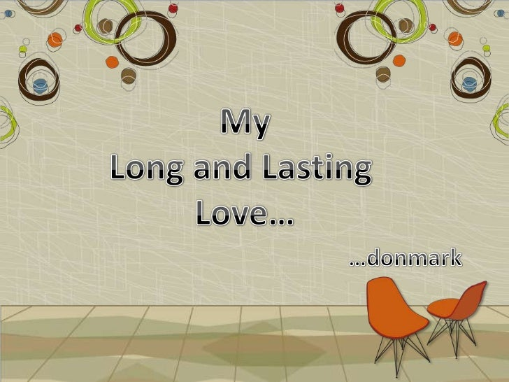 Long lasting love meaning