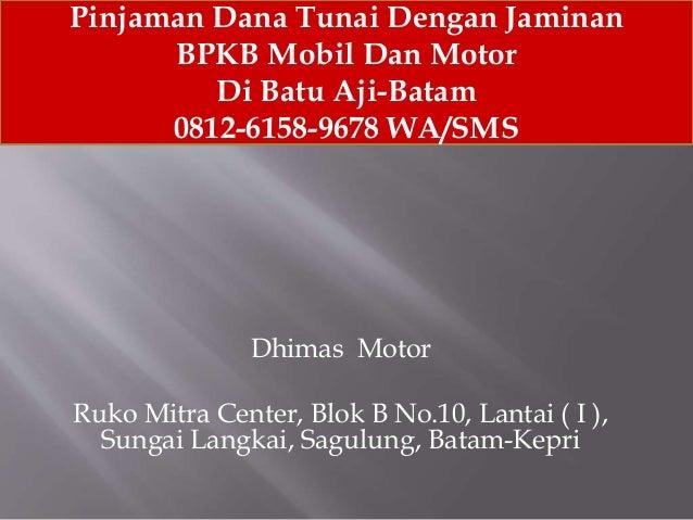 Gadai BPKB Batam 9f1e0be5b9