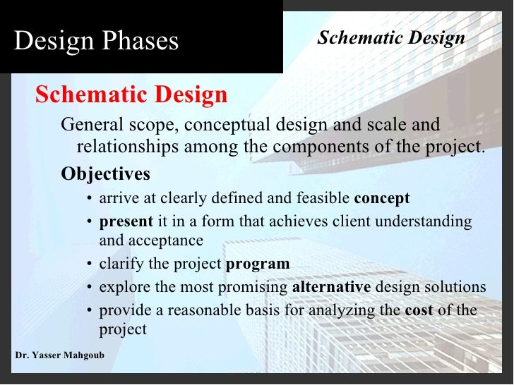 Definition Of Schematic Design Documents - Car Wiring Diagrams ...