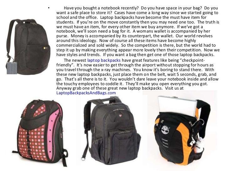 Only the Best Laptop Backpacks, 10 TIPS Slide 2