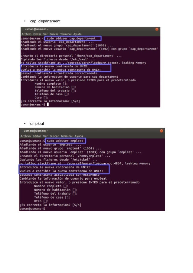 Grupos de usuarios y grupus GNU/Linux Slide 3