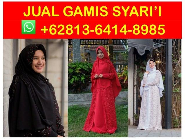 Hub 0813 6414 8985 Baju Gamis Pesta Mewah Elegan