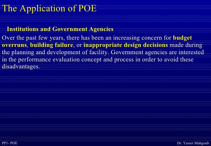 Post Occupancy Evaluation Interior Design