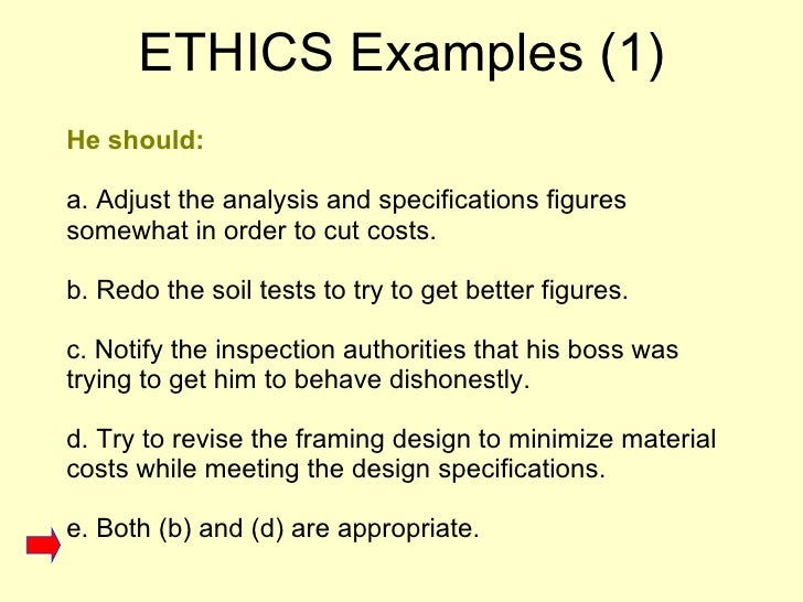ethics and professional practice pdf