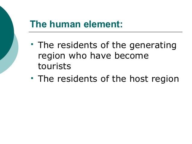 Tourism definitions