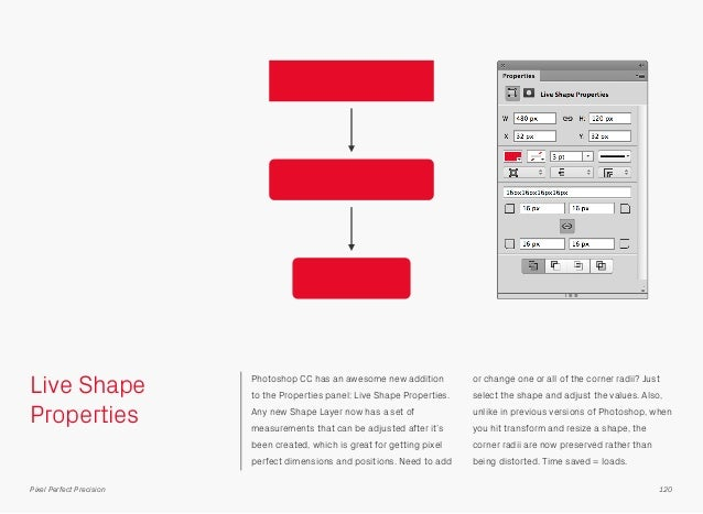 Live Shape Properties Photoshop CC