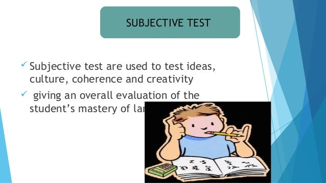 methods of objective test construction essay Range of constructed-response types and situations is limitless and  essay,  problem based, scenario  the first type is multiple-choice tests,2 which are.