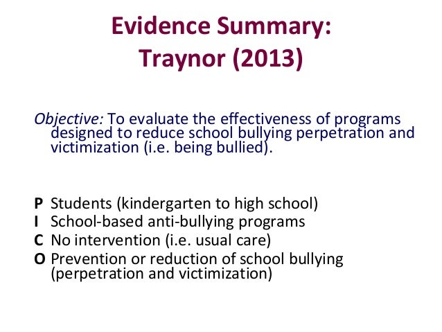 bullying victimization and mental health Background: research supports robust associations between childhood bullying victimisation and mental health problems in childhood/adolescence and emerging evidence.