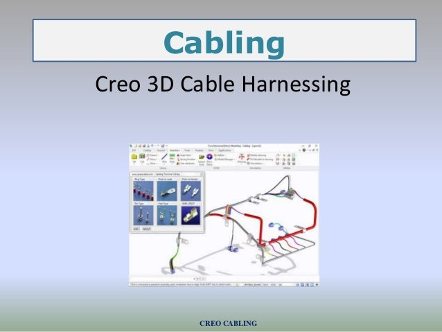 CREO CABLING Creo 3D Cable Harnessing Cabling
