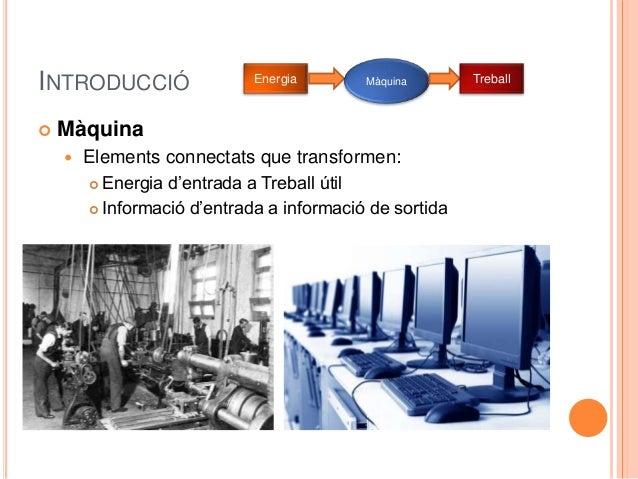 Les màquines 3r ESO Slide 3
