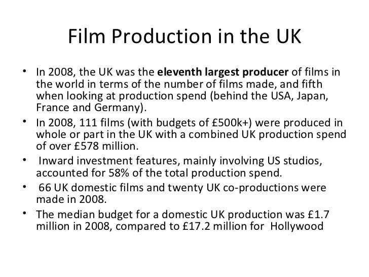 How is the british film industry funded — photo 1