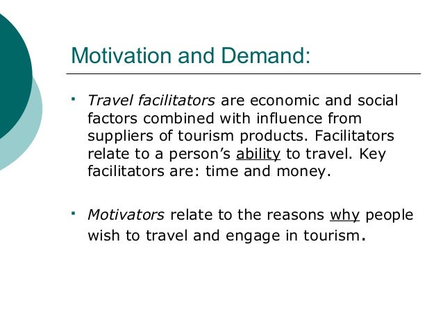 travel and tourism trends and factors A secondary school revision resource for gcse geography on the growth and impact of tourism tourism tourism trends in tourism there are many factors.
