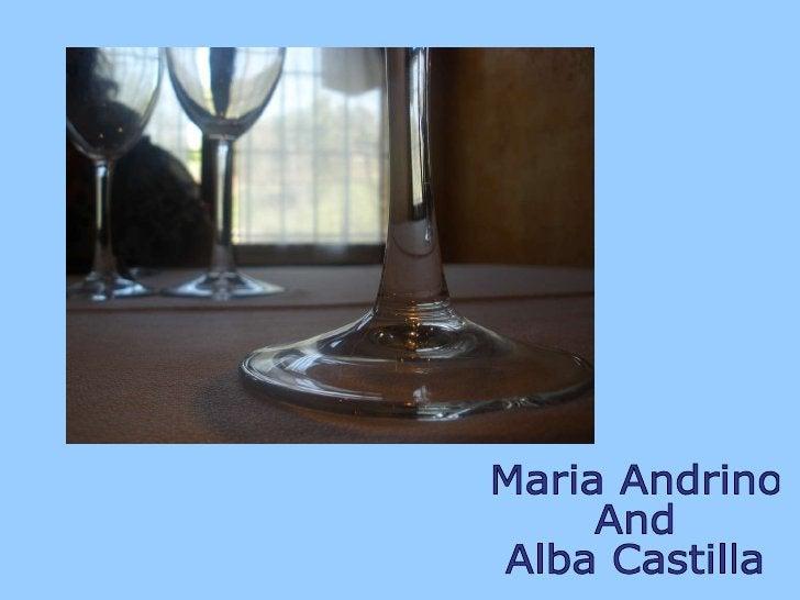 Maria Andrino  And  Alba Castilla
