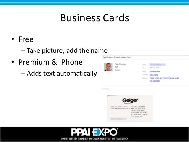 Using evernote for salespeople business cards reheart Gallery