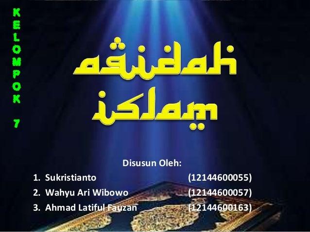 Disusun Oleh:1. Sukristianto                    (12144600055)2. Wahyu Ari Wibowo                (12144600057)3. Ahmad Lati...