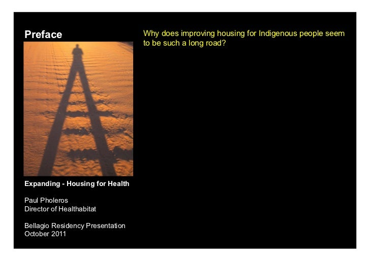 Preface                           Why does improving housing for Indigenous people seem                                  t...
