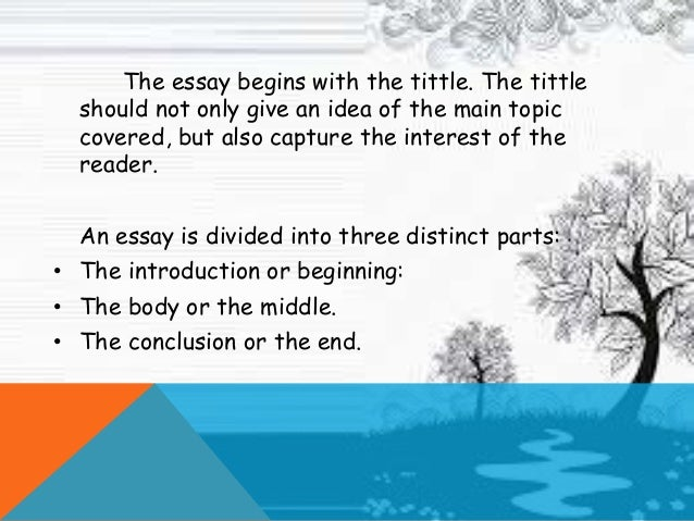 the tittle essay On the common app, do you need to include a title on your essay would you recommend it.