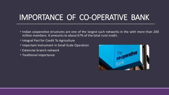 cooperative banking in india pdf