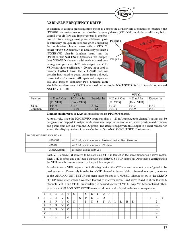 fireye ppc 4000 combustion efficiency controller