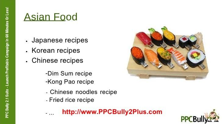 Asian Food  ●   Japanese recipes  ●   Korean recipes  ●   Chinese recipes  <ul><li>Dim Sum recipe  </li></ul><ul><li>Kong ...