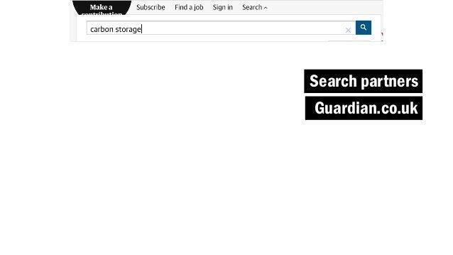 Search partners Guardian.co.uk