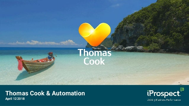 Thomas Cook & Automation April 12 2018